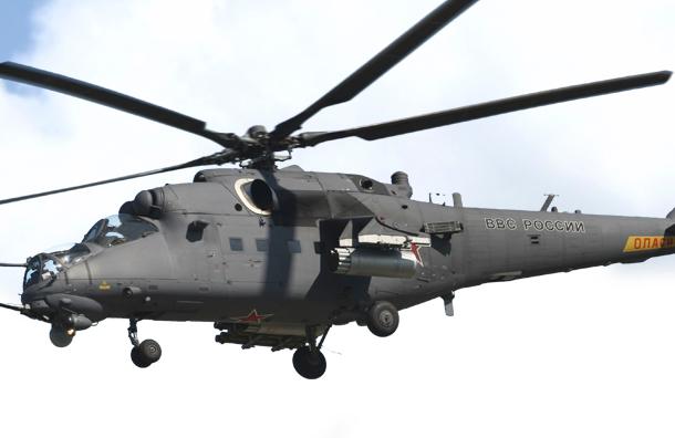Армейская авиация ЗВО поднята по тревоге в Петербурге