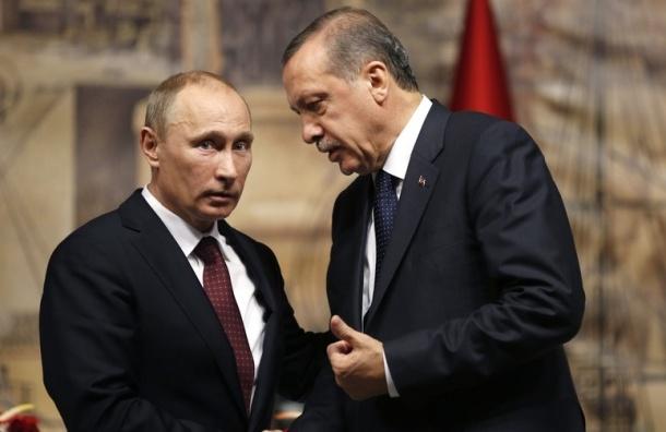 Эрдоган приедет в Россию для встречи с Путиным