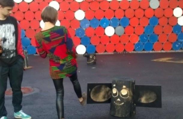 Чебураном и русской тоской пополнился Музей уличного искусства