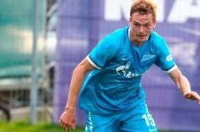 Полузащитника «Зенита» после матча с «Лионом» уносили с поля на носилках