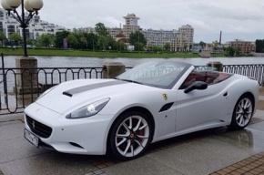 Халк выставил на продажу в Петербурге свой белый Ferrari
