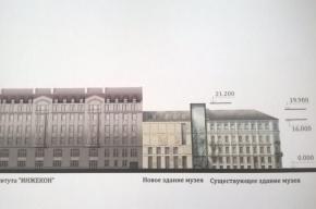 Музею Достоевского тесно