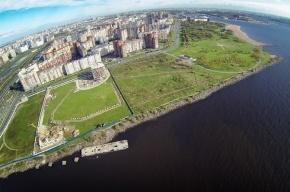 Жители продолжают благоустраивать парк 300-летия, часть которого хочет застроить