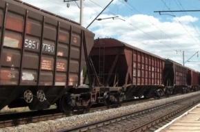 Пять вагонов грузового поезда сошли на «Сортировочной-Московской»