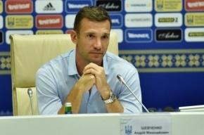 Сборную Украины по футболу возглавил Андрей Шевченко
