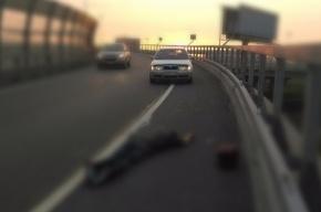Молодой байкер проломил голову на КАД об отбойник