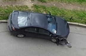 «Ночной рейсер» разбил 4 машины на Гжатской улице