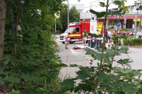 Кадры с места стрельбы в Мюнхене публикуют очевидцы
