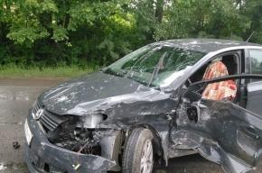 Водитель погиб при столкновении двух машин на трассе Р-40