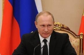 Путин примет парад кораблей в День ВМФ в Петербурге