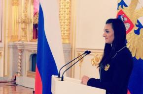Исинбаева не сдержалась и расплакалась перед Путиным