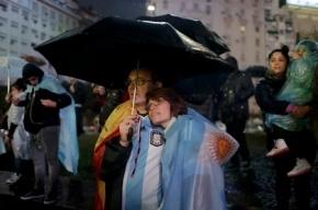Сотни аргентинцев вышли на митинг с призывом к Месси вернуться в сборную