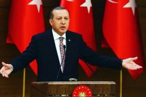 Эрдоган покинул Стамбул на самолете