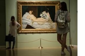 «Олимпия» Мане выставлена в Эрмитаже
