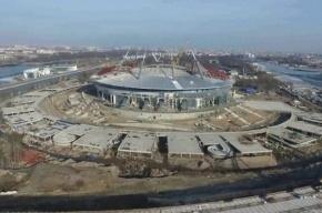 Строительство стадиона «Зенит-Арена» полностью остановилось