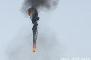 Опубликовано видео с места крушения воздушного шара в Техасе