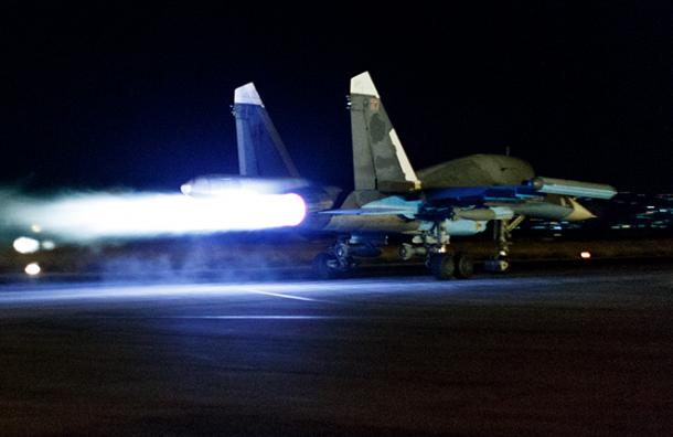Российские военные нанесли удары по авиабазе США в Сирии