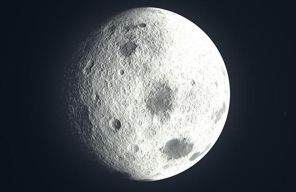 Кратер на Луне появился после столкновения с протопланетой