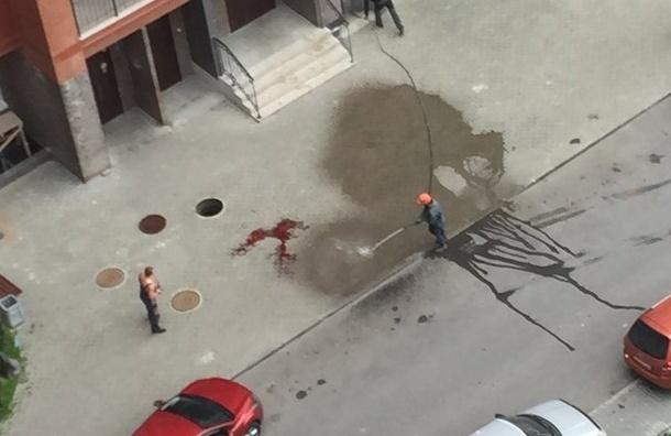 Молодой человек выпал из окна высотки в Мурино