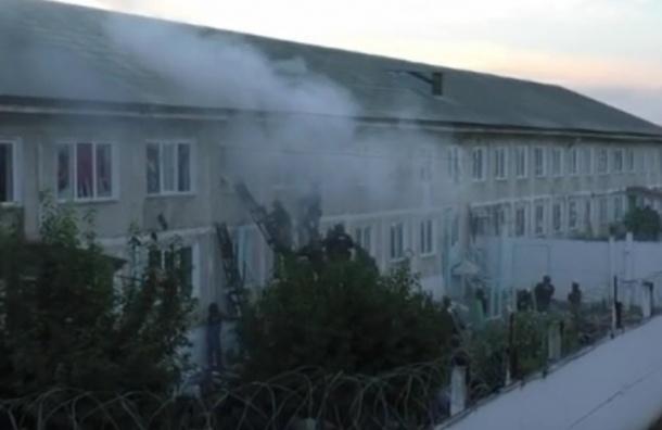 В Сеть попали кадры бунта осужденных в колонии Хакасии