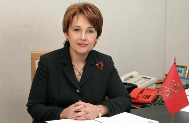 Дмитриева рассчитывает получить 25% по партсписку в Петербурге
