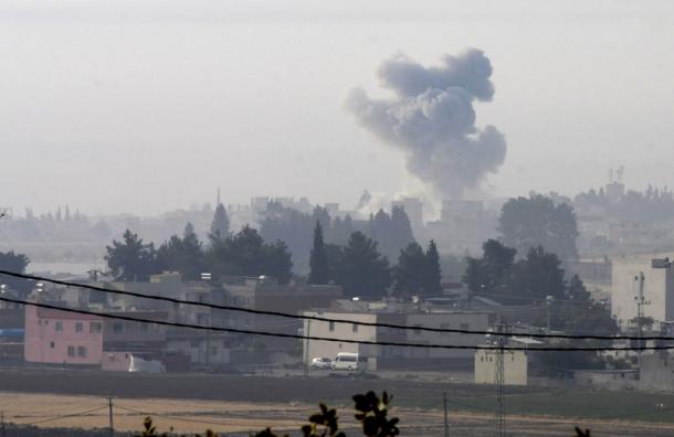 Турция начала наземную военную операцию против ИГИЛ в Сирии