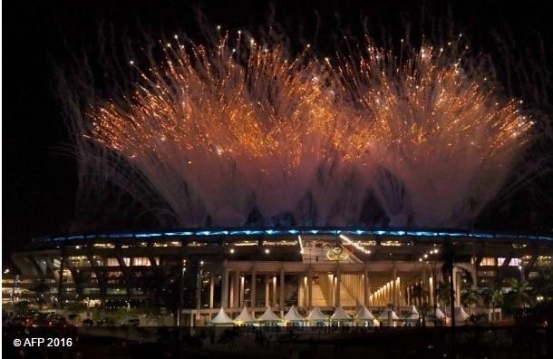 Открылась XXXI Олимпиада в Рио-де-Жанейро