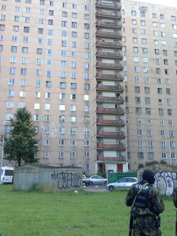 Задержание боевиков на Ленинском проспекте, фото: MR7.ru: Фото