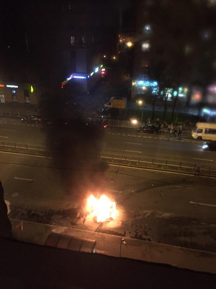 стачек 2 взрыв машина
