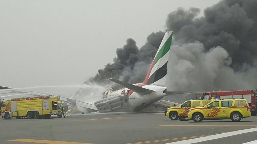 самолет 2 твиттре пожар