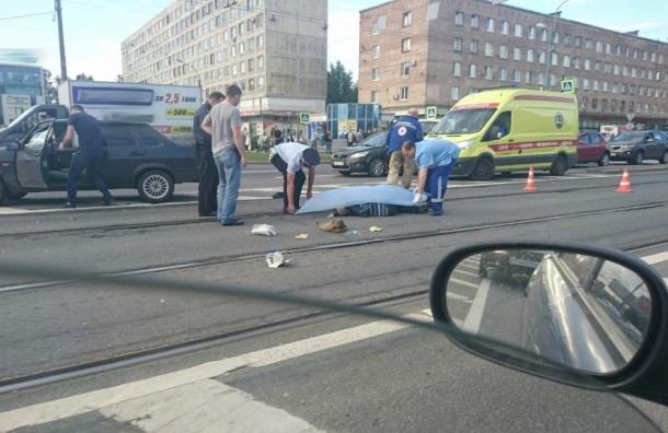 Пожилого мужчину сбила насмерть на Народной машина «с гражданами из южных стран»