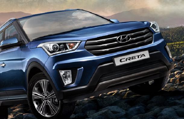 Массовая сборка Hyundai Creta началась в Петербурге