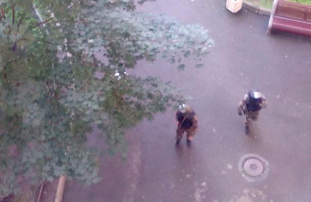 Силовики в доме на Ленинском задерживают боевиков из Кабардино-Балкарии