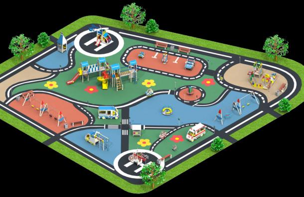 В «Новом Оккервиле» появится тематическая детская площадка