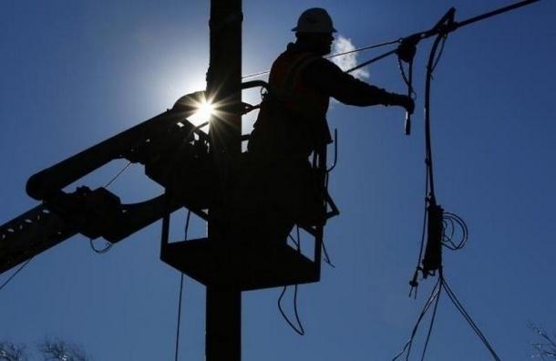 В 3-х районах Петербурга отключался свет из-за нештатной ситуации наТЭЦ