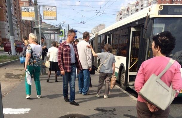 Пассажир залил струей перца глаза водителю автобуса на Богатырском