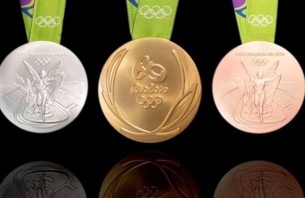 Россия - четвертая по числу медалей на Олимпиаде в Рио