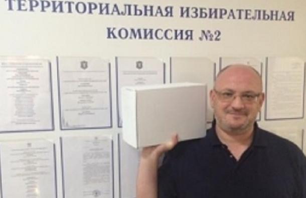 Почти 200 бракованных подписей нашли у кандидата Максима Резника