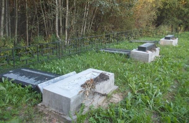 Вандалы разрушили мемориал «Голубая дача» в Псковской области