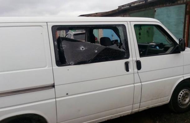Микроавтобус Милонова изрешетили пулями в Донбассе