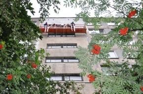 Фасады домов первой массовой серии начали капитально ремонтировать в Петербурге