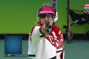 ОИ-2016: Россиянка Виталина Бацарашкина выиграла серебро в стрельбе