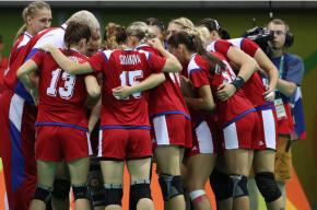 Российские гандболистки впервые в истории Олимпиады взяли золото