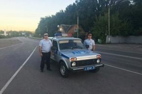 Супружеская пара из Петербурга поблагодарила полицейских из Воронежа