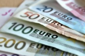 Евро официально подешевел до 73,20 рубля