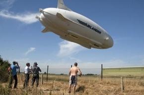 Крупнейшее в мире воздушное судно рухнуло в Англии