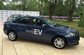 Электрокар Lada Vesta EV начнут продавать в 2017 году