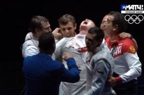 Российские рапиристы выиграли золото Олимпиады
