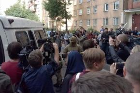 Оцепление вокруг дома на Ленинском снято
