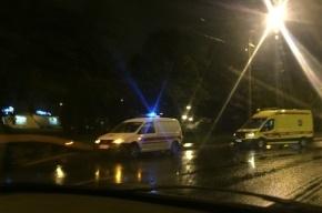 «Скорая помощь» сбила насмерть пешехода в Купчино